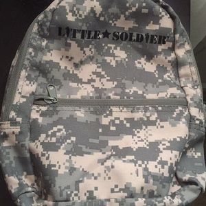 Other - Small toddler army backpack